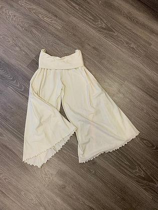 Pantalone bianco Jersey