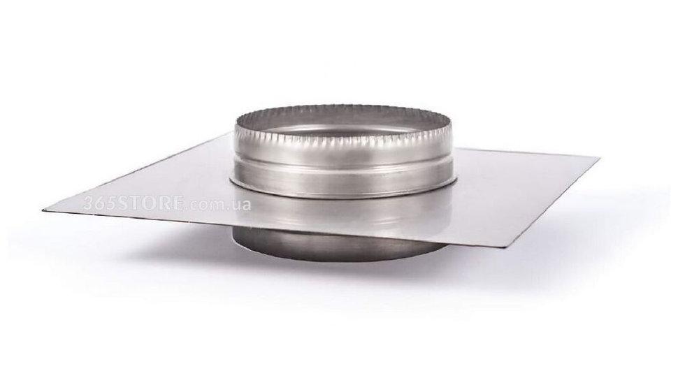 Крышка утеплителя из крашеного метала