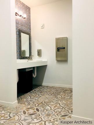 Marywood Retreat Cntr_Porcelain tile