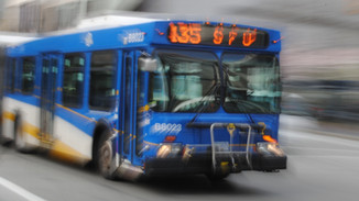 Bus Rider Settles on Who to Hate for the Next Five Stops