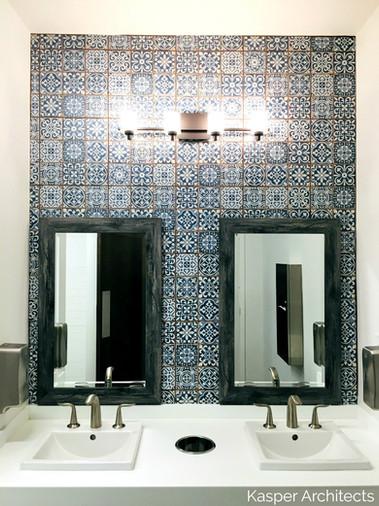 Marywood Retreat Center - Porcelain tile