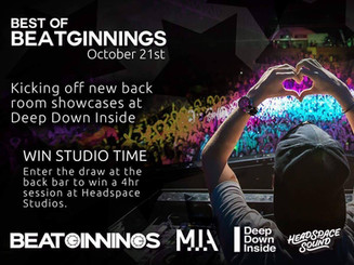 New Best of Beatginnings Showcase Launches at Deep Down Inside Are You MIA