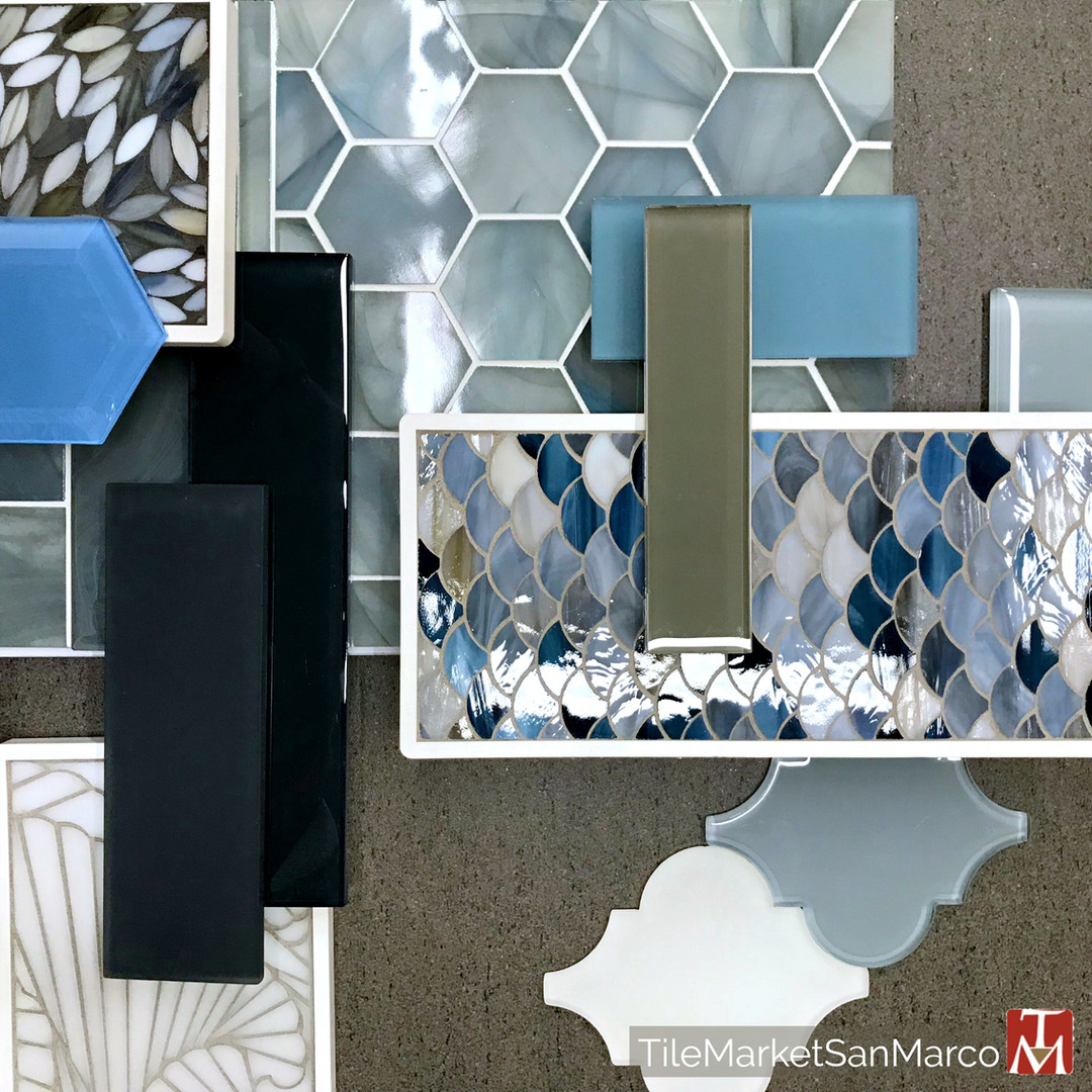 Glass tile and glass mosaics