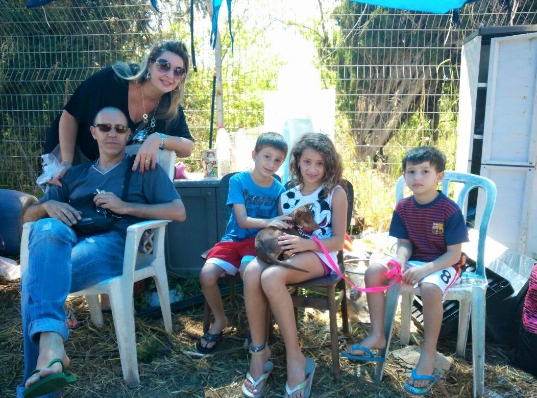משפחה ביום האימוץ