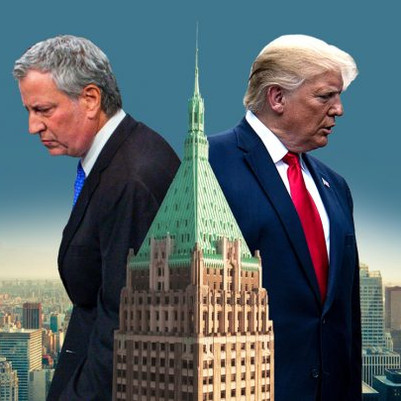 Mayor Bill de Blasio says NYC will cancel all Trump Organization Contracts Following Capitol Attack