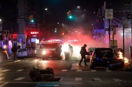 New York Protests Mirror The Mayhem In Philly
