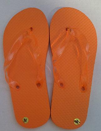 Orange Flp Flops