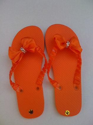 Orange Wing Bow