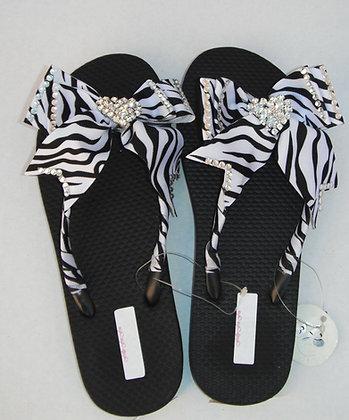 Zebra T Bow