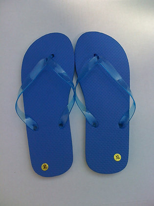 Royal Blue Flip Flops