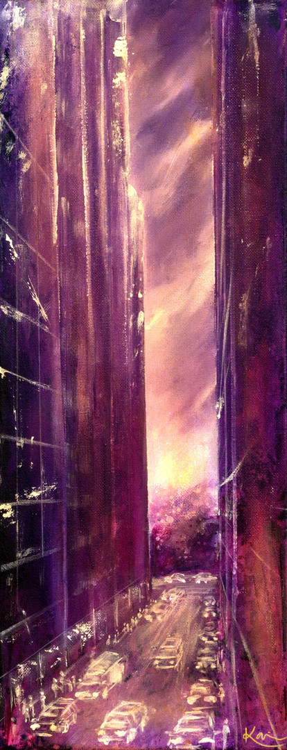 Karin Bergdahl, Let there be Light, 20x6