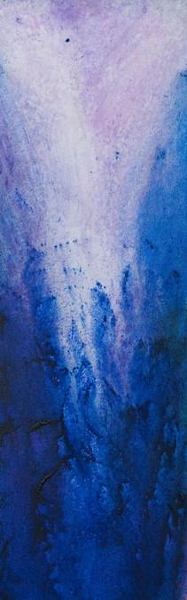 Karin Bergdahl, Elephant, 20x60, akryl,