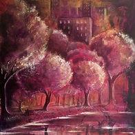 Karin Bergdahl, Central Park in Blossom,