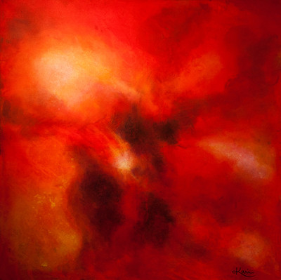 Karin Bergdahl, Fusion, 80x80, akryl, 20