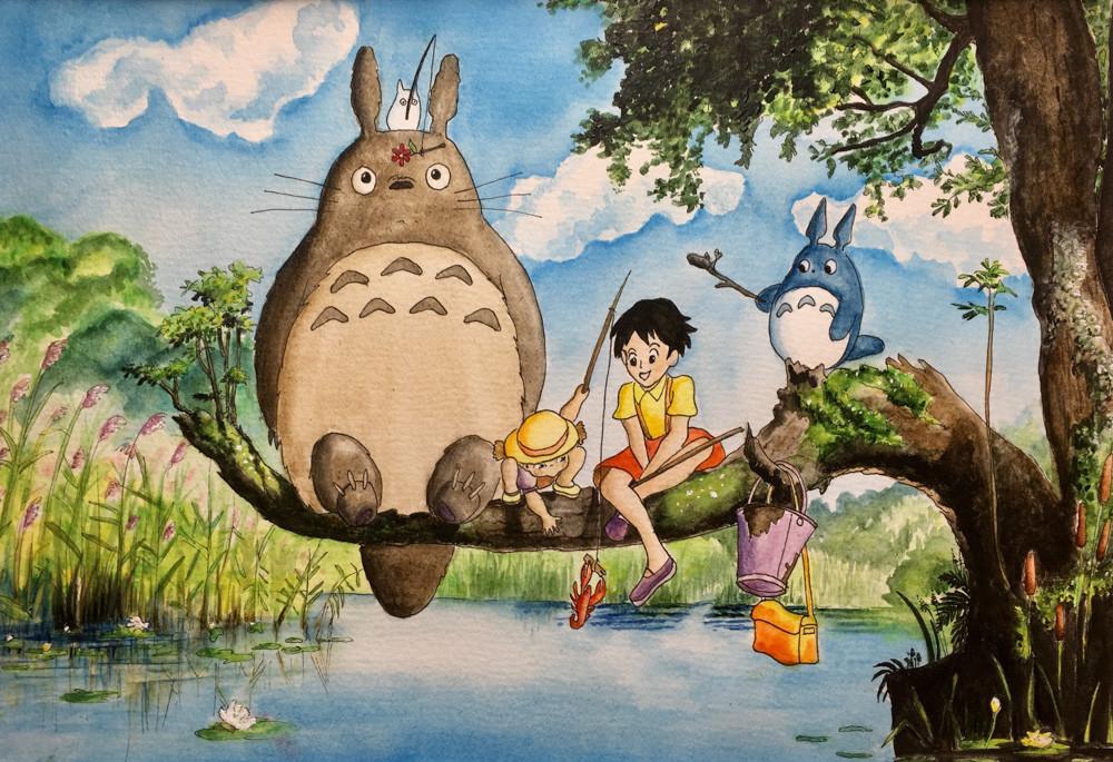 Karin Bergdahl, Totoro, Mei o Satsuki fi