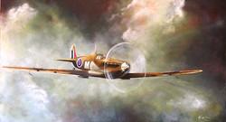 Karin Bergdahl, Spitfire - beställning,