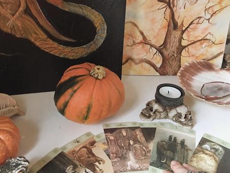 Fall Equinox/Mabon Altar