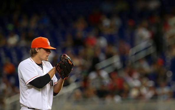 Tom Koehler - Miami Marlins starting pitcher
