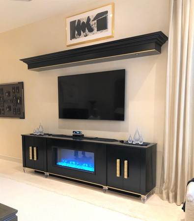 Entertainment Center & Cabinetry