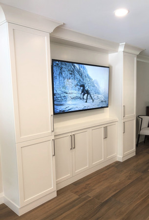 Built-in TV Cabinetry