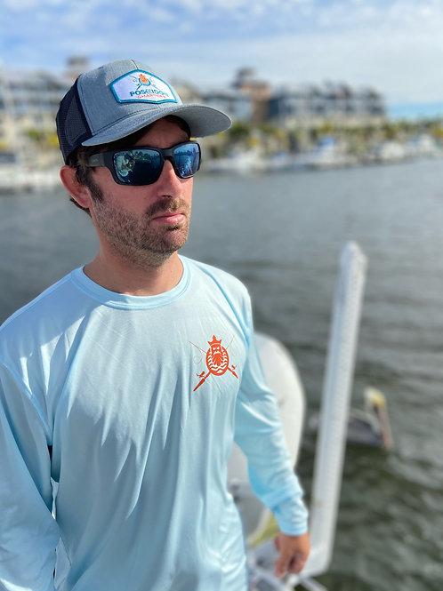 Aqua Poseidon Charters Performance Shirt