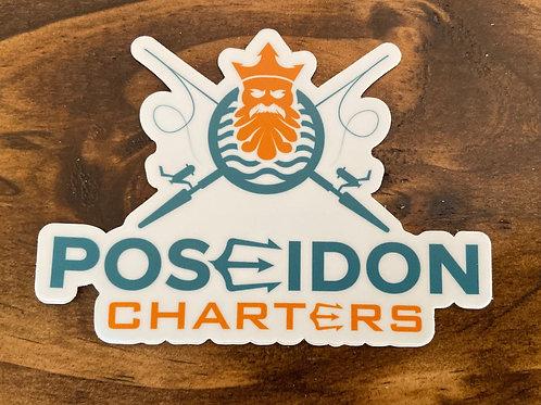 Poseidon Charters Sticker