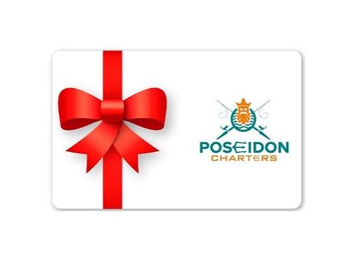 Gift Card - Half Day Fishing Charter