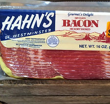 Hahn's Bacon at Pork and Beans Store Westminster MD