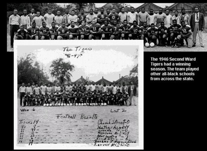 1946 it showcase that the second ward ti