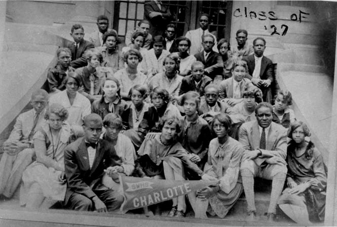 Second Ward HS Students in 1927.