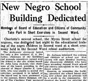 Myers School Dedication.png