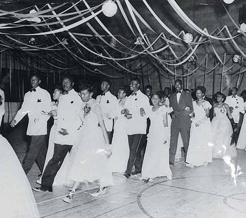 West Charlotte HS prom in 1950.