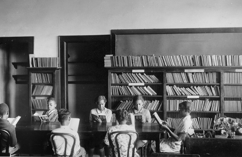 The Morgan School in 1925.