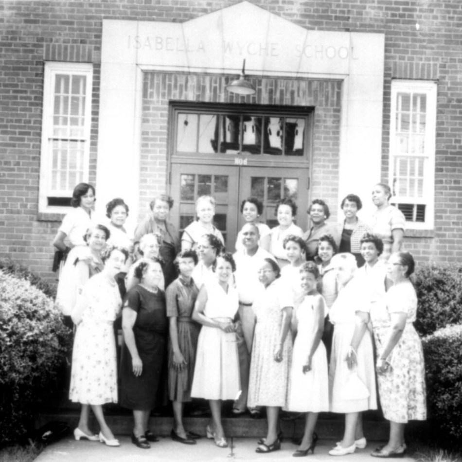 Isabelle W School Teachers in 1945.