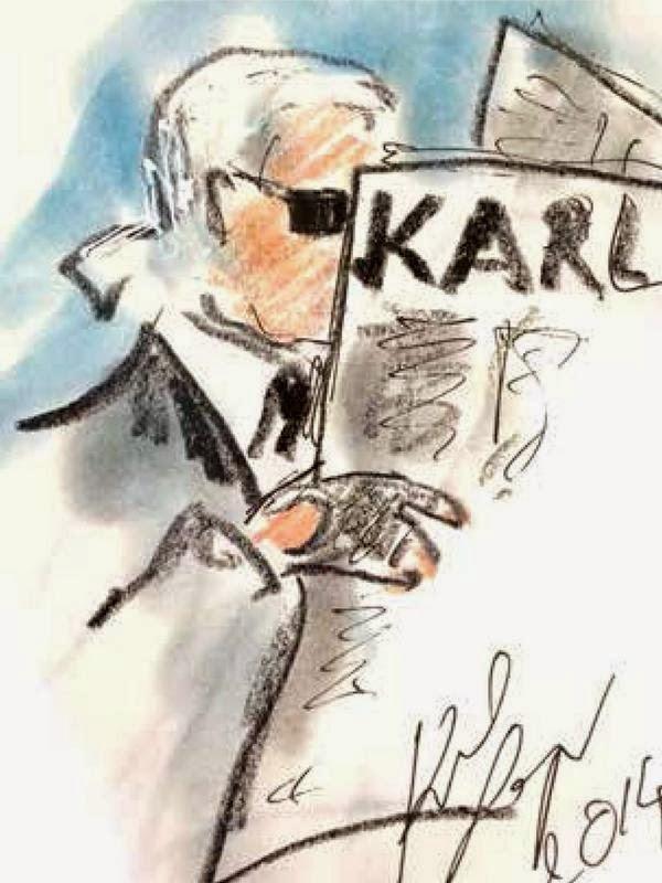 court metrage Karl Lagerfeld, Les Studios de la Seine