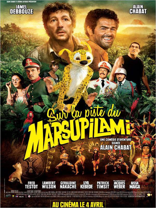 Sur la Piste du Marsupilami, Les Studios de la Seine