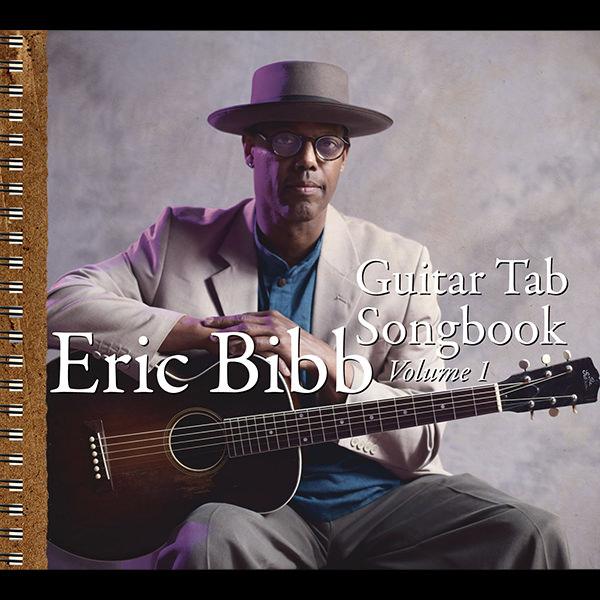 Eric Bibb-Guitar tab songbook Volume 1, Les Studios de la Seine