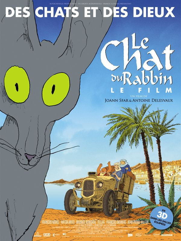 Le Chat du Rabin, Les Studios de la Seine