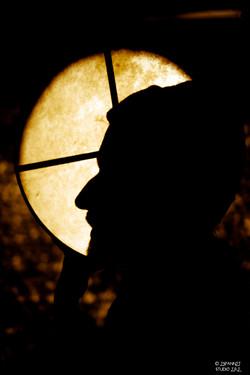 """""""Le poisson, la Lune et la jeune fille"""", le conteur"""