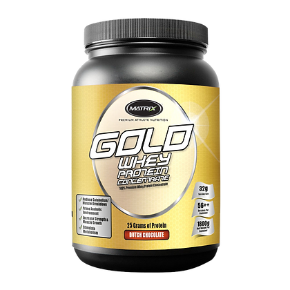 Matrix GOLD WHEY PROTEIN CONCENTRATE 1.8Kg