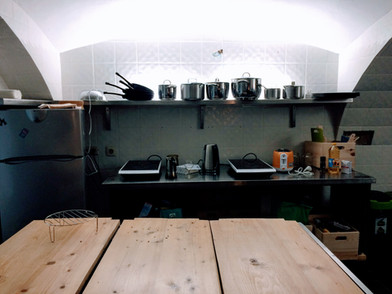 Jól felszerelt konyha