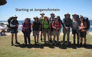 Jonensfontein to Witsand 5 - 14 Jan 2018
