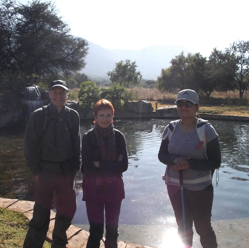 Phillip, Debbie and Shobitha