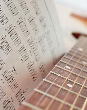 gitaar met akkoorden