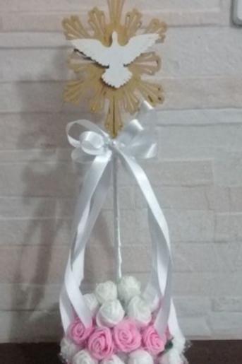 Centro de Mesa Ángel y Flores