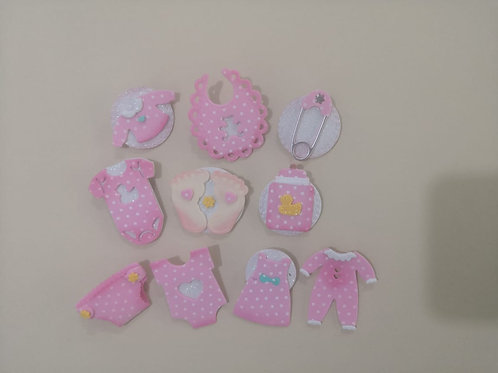 Pins Baby Shower blister