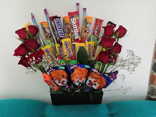Rosas,Dulces y Chocolates