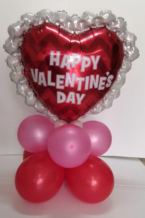 Corazón Happy Valentine's Day