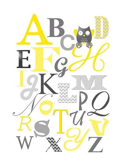 Alphabet Personnalisé