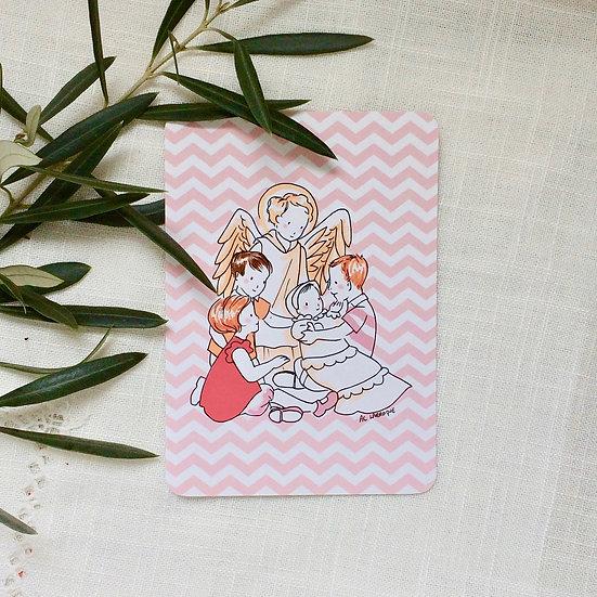 Carte Famille et Ange